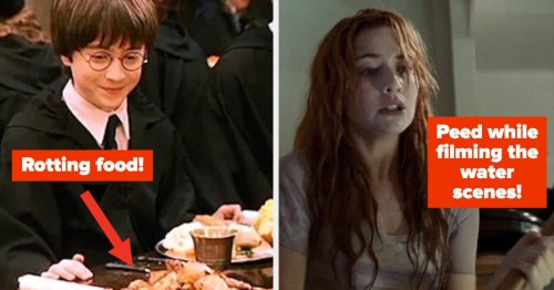 17 Behind The Scenes Movie Facts That Might Give You A New Found Respect For These Actors