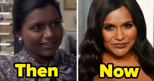 """19 Side-By-Sides Of """"The Office"""" Cast From Their First Episodes, Last Episodes, And Now"""
