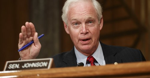 """Sen. Ron Johnson Told Capitol Security Officials That """"Fake"""" Trump Supporters Started The Capitol Riots"""