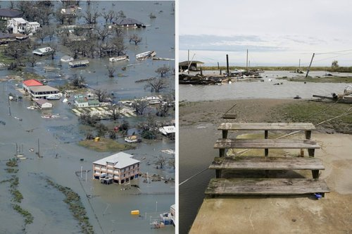 Dramatic Photos Show The Damage Caused By Hurricane Laura