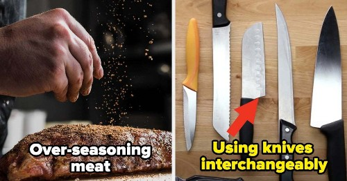 18 Common Cooking Mistakes You're Making, According To Professional Chefs