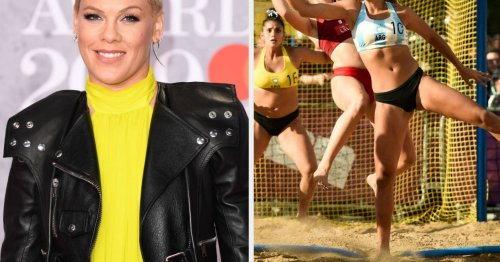 """Pink Offered To Pay The Fines For The Norway Women's Beach Handball Team After They Broke """"Sexist"""" Uniform Rules"""