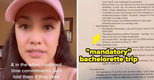 This Bride-To-Be Went Viral For Sharing The Two-Page Letter She Sent To Her Bridesmaids, And People Have Opinions