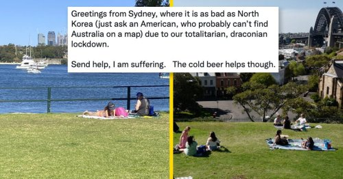 """Aussies Are Sharing What Lockdown Actually Looks Like, In Response To Americans Labelling Our Government """"Tyrannical"""""""