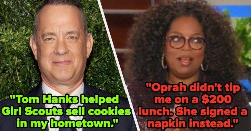 People Revealed The Good Vs. Bad Celebrity Encounters They've Had, And Their Stories Are Too Juicy To Ignore