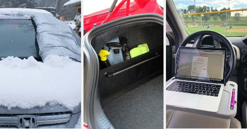 25 Game-Changing Things For Your Car You'll Probably Wish You'd Bought Years Ago