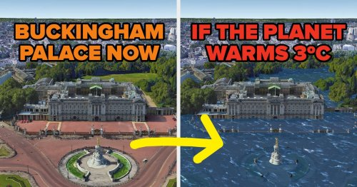 38 Shocking Photos Of Iconic Places Now Vs. If The Planet Warms 3 Degrees Celsius