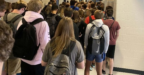 Two Students Say They Were Suspended From Their Georgia High School For Posting Photos Of Crowded Hallways