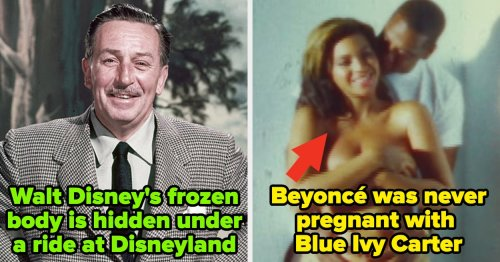 11 Wild Pop Culture Conspiracy Theories Vs. What Actually Happened