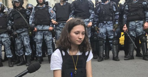 This 19-Year-Old Russian Activist Stood Up To Putin's Thugs. Here Are Her Brave Words.