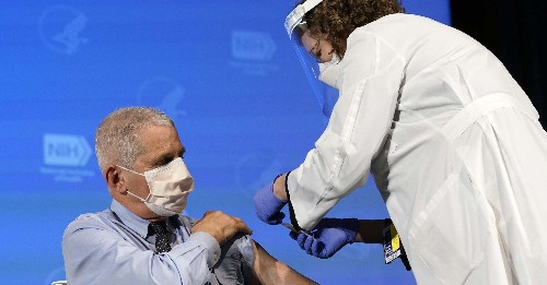 Anthony Fauci Has Received The Moderna COVID-19 Vaccine