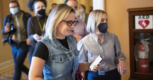 Kyrsten Sinema Is Blocking A Tax Hike On Millionaires, So Democrats Are Now Targeting Billionaires