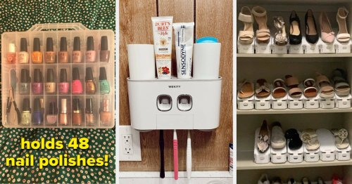 41 Organization And Storage Products That'll Transform Your Home