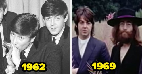 Here's What 21 Famous Bands And Groups Looked Like When They First Started Out Vs. The End