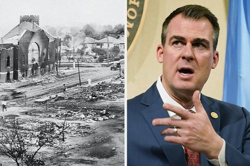 Oklahoma's Governor Was Kicked Off The Tulsa Race Massacre Commission For Signing A Bill Banning Critical Race Theory In Schools