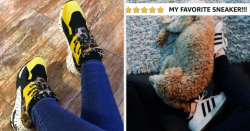 24 Stylish Everyday Sneakers On Amazon That Reviewers Actually Swear By
