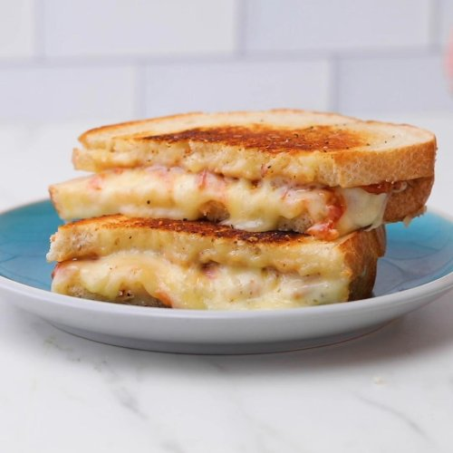 Grilled Cheese With Smoky Tomato Jam Recipe by Tasty