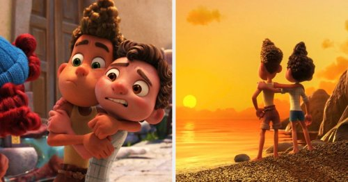 """I'm Sorry, But """"Luca"""" Is Totally A Gay Movie, And These 18 Tweets Prove It"""