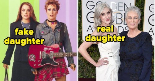 16 Actors And Their Fictional Children Vs. Their Actual Children