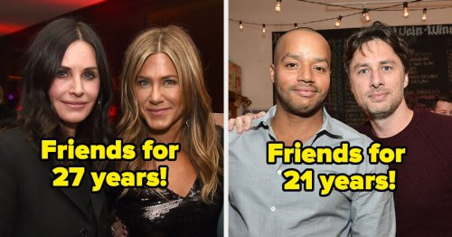 25 Actors Who Are *Still* Friends With Their Costars After 10+ Years