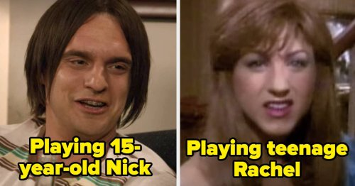 19 Times TV Shows And Movies Decided Not To Cast Younger Actors For Flashbacks And It Was Just Straight-Up Weird