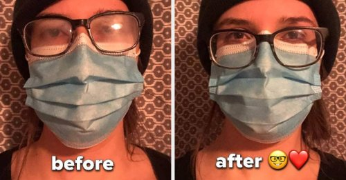 17 Problem-Solving Products To Make Wearing A Face Mask With Glasses Easier