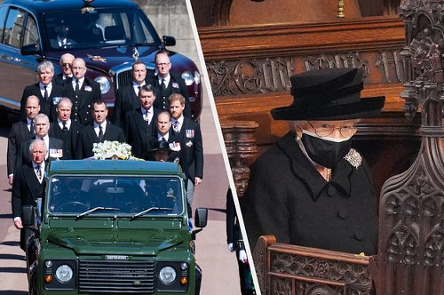 The Moments And Details You Might Have Missed At Prince Philip's Funeral