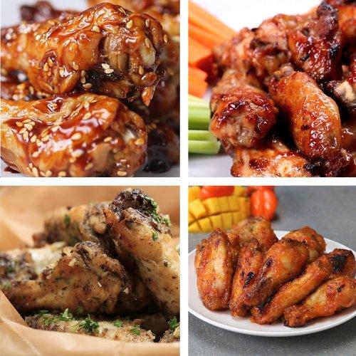 Chicken Wings 6 Ways | Recipes