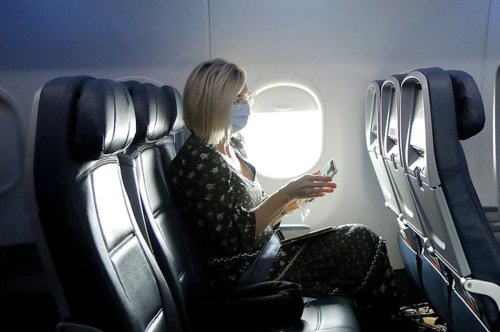 A New Study Suggests Empty Middle Seats On Planes Reduce COVID Exposure By A Third