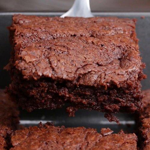 3-Ingredient Hazelnut Brownies Recipe by Tasty