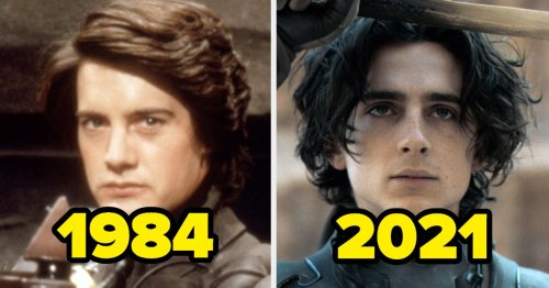 """The Cast Of """"Dune"""" 1984 Vs. """"Dune"""" 2021 — Here's Who's Playing Who"""