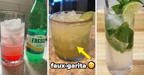 People Are Sharing What They Drink When They're Avoiding Alcohol, And I Definitely Want To Try Some Of These