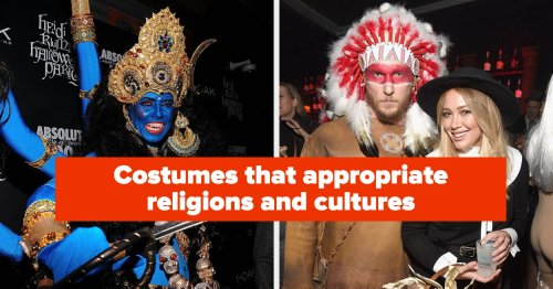 Native American Chief, Anne Frank, And 15 Other Costumes You Should Absolutely Steer Clear Of On Halloween