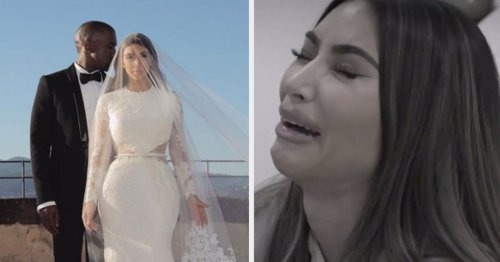 """Kim Kardashian Posted A Throwback Photo From Her And Kanye West's Vow Renewal Days After Revealing She Feels Like A """"Failure"""" Over Their Divorce"""