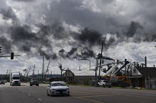 One Of The Largest US Petrochemical Plants Is Spewing Excessive Smoke After Hurricane Ida Knocked Out Its Power