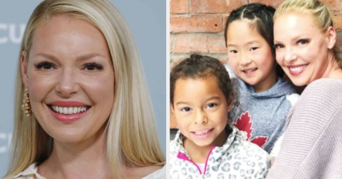 "Katherine Heigl Opened Up About The Changes She's Made To Raising Her Adopted Kids After Admitting She Lived In A ""White Bubble"" And Was ""Blind"" To Racism"