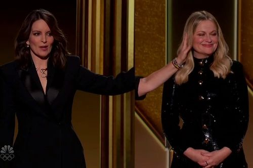 Tina Fey And Amy Poehler Really Roasted The Hell Out Of The Golden Globes