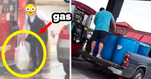 18 Pictures That Show Just How Chaotic The Gas Shortage In The United States Has Been