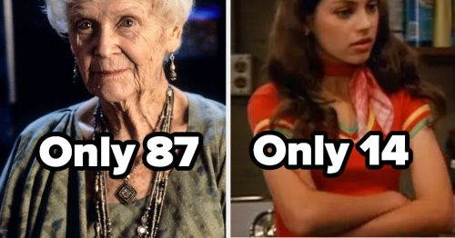 17 Times Hollywood Was Allergic To Casting Someone Of The Proper Age For A Role