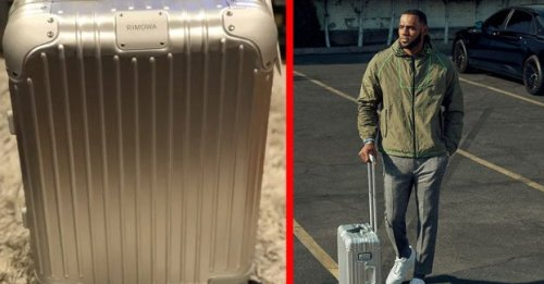 I Tried The Rimowa Luggage LeBron James Uses And It Made Traveling So Much Easier