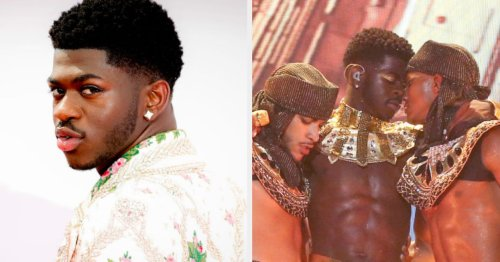 Lil Nas X Explained How He Chose Which Dancer To Kiss For His Iconic BET Awards Performance