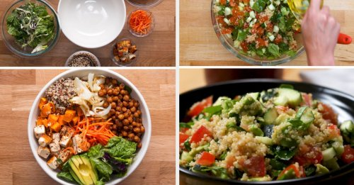21 High-Protein Plant-Based Recipes If You're Trying To Eat Less Meat