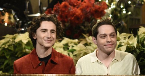 Pete Davidson And I Have One Thing In Common — We Both Think Timothée Chalamet Is Hot