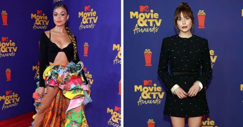 Here's What Everyone Wore To The 2021 MTV Movie & TV Awards