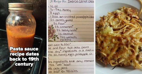 People Are Sharing Family Recipes That Have Been Passed Down By Generations And They Sound So Good