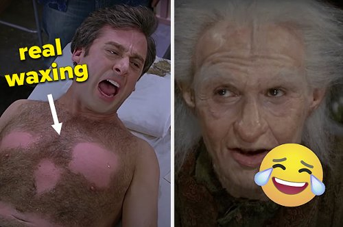 22 Moments In Movies That Were Not In The Script And You Wouldn't Have Even Noticed