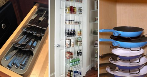 34 Products To Maximize Space In Your Small Kitchen