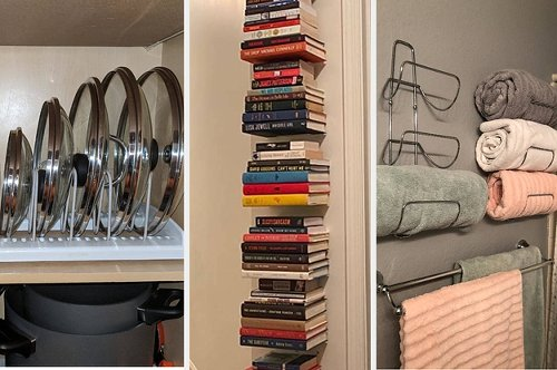 33 Organization Products That'll Make Room In Your Crowded Space