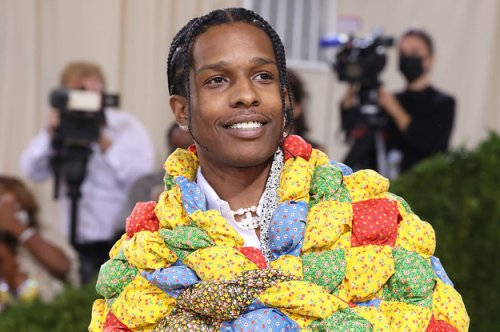 A Woman Identified The Quilt That A$AP Rocky Wore To The Met Gala And My Mind Is Blown