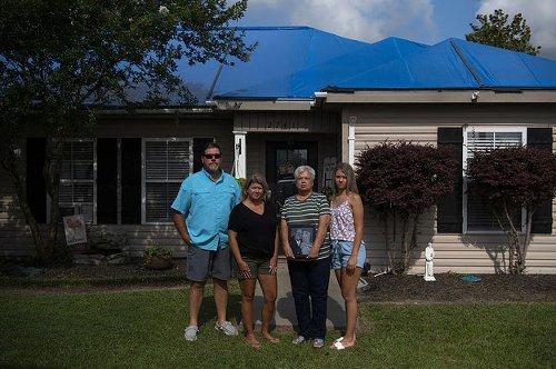 Three Hurricanes. A Deep Freeze. A Biblical Flood: Lake Charles Is America's Climate Future